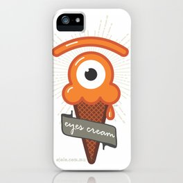 eyes cream iPhone Case