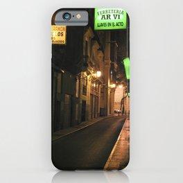LUCE VERDE - Valencia - Spain iPhone Case