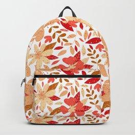 Floral Pattern - Rétro  Backpack