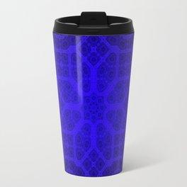 Blue Octogon Star Travel Mug