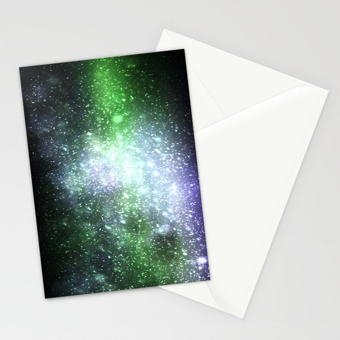 Falling sparkles Stationery Cards
