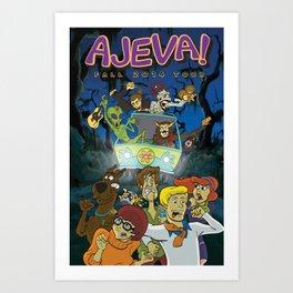 Ajeva Fall 2014 Tour Art Print