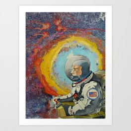 AstroLost Art Print