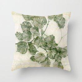 Branch-Birch Throw Pillow