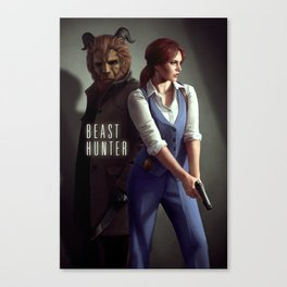 Beast Hunter Canvas Print