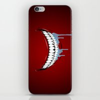 technology iPhone & iPod Skins featuring Hungry Technology by R-evolution GFX