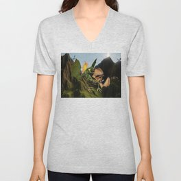 Battle for Dragon Mountain Unisex V-Neck