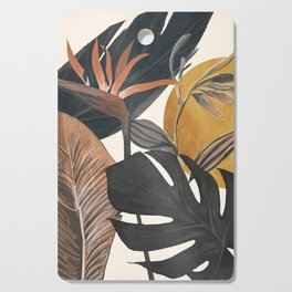 Abstract Tropical Art III Cutting Board
