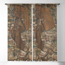 Egon Schiele - Levitation (The Blind II) Blackout Curtain