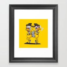 Pollos Framed Art Print