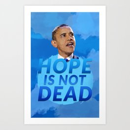 Obama Art Prints | Society6