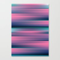 gradient Canvas Prints featuring Gradient by Elyse Beisser