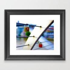 Love Locks 2012 08 Framed Art Print