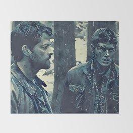 Angel & Hunter Throw Blanket