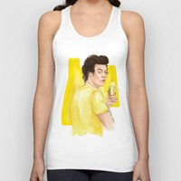 coconutwishes Tank Tops featuring Harry is all yellow by Coconut Wishes