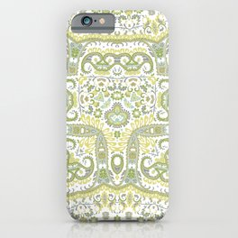 Faux Hand Embroidery iPhone Case