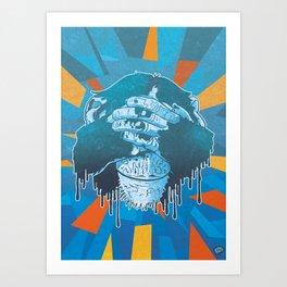 Mizaru Art Print