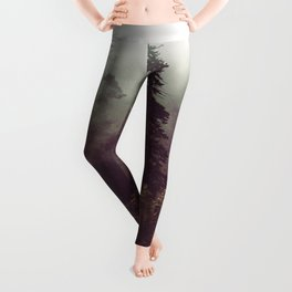 Weekend Escape - Forest Nature Photography Leggings