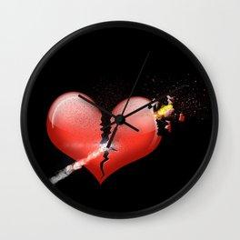 Heartbomb Wall Clock