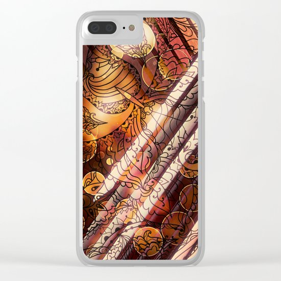 Dare to Doodle Clear iPhone Case