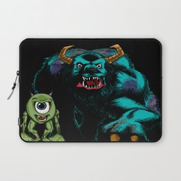 Mike & Sully (black)... Laptop Sleeve