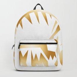 Gold Flying Backpack