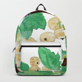 Branch of white currants Backpack