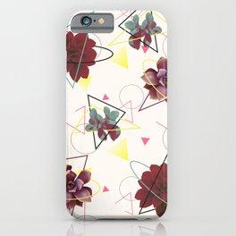 Spatial Succulents #redbubble #decor #buyart iPhone Case