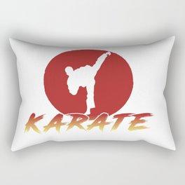 Karate Fighting Present Gift Self Defense Rectangular Pillow