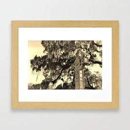 The Cross at Bonaventure Framed Art Print
