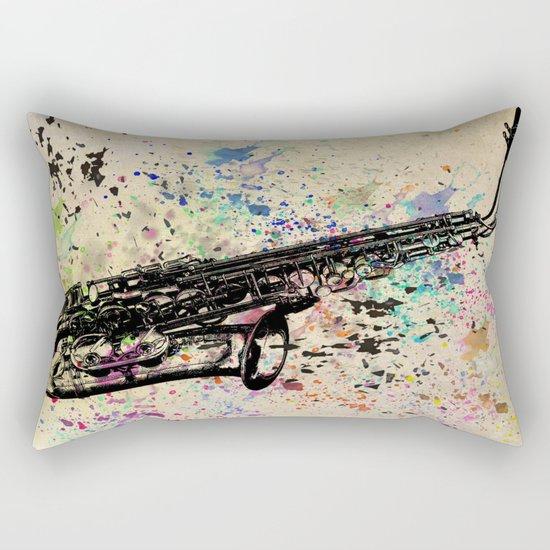 Sax-1 Rectangular Pillow