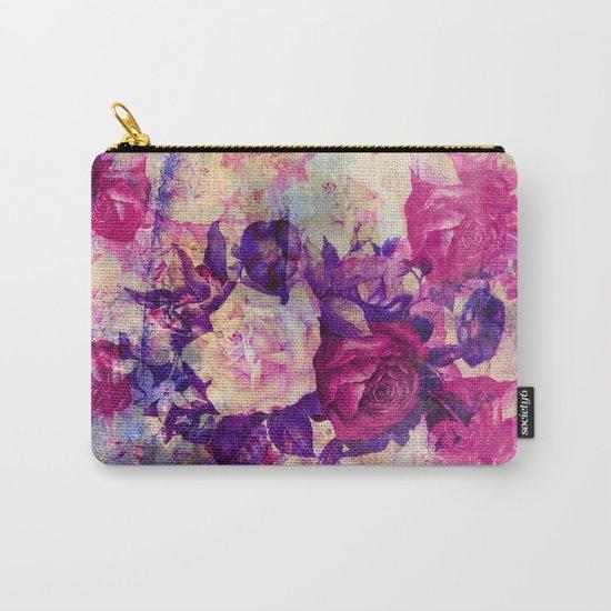 bouquet de roses Carry-All Pouch