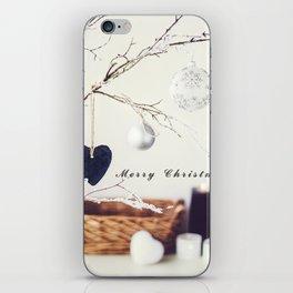 Merry Christmas. Christmas Card iPhone Skin