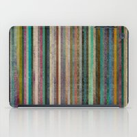 striped iPad Cases featuring Striped by Sharon Johnstone
