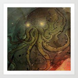 The Call of Cthulhu Art Print