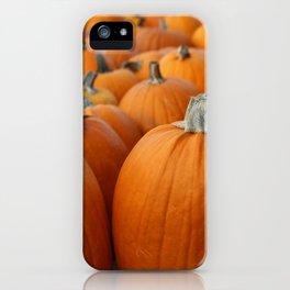 Pumpkins 3 iPhone Case