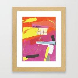 color response Framed Art Print