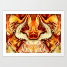Luoncy Art Print