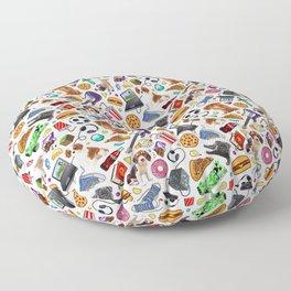 teenage explosion  Floor Pillow