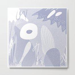 fl0wer3 Metal Print