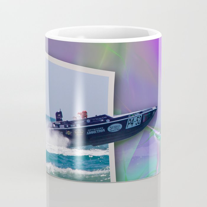 Offshore Addiction Speeds Out Of Frame Coffee Mug