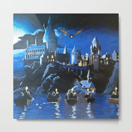 Gogwarts Metal Print