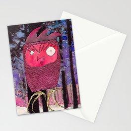 Ruby Owl Stationery Cards