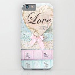 Love Heart Books iPhone Case
