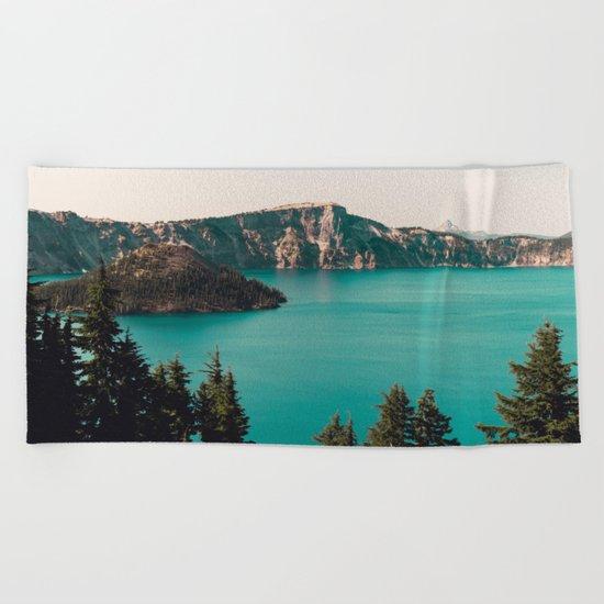 Dreamy Lake Beach Towel
