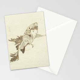 fish suit Stationery Cards