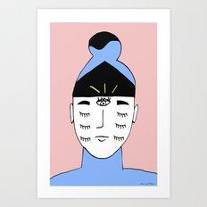 Seventh Eye Art Print