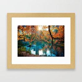 Magical Fall Framed Art Print