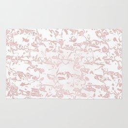 pastel liquid pattern,pink Rug