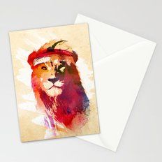 Gym Lion Stationery Cards